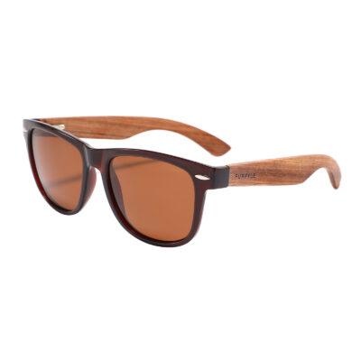 Lodi 1501-2 WFR Classic Polarized Tinted Sunglasses Brown