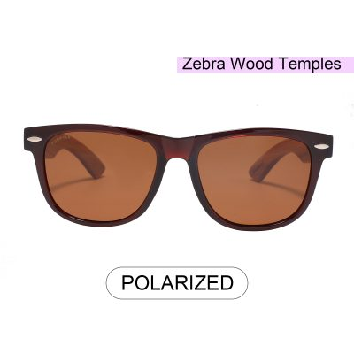 Purpyle LODI 1501-2 WFR CLASSIC POLARIZED TINTED SUNGLASSES BROWN 3