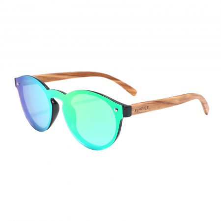 Purpyle Palo 1502M-1 WFR Classic Polarized Mirrored Sunglasses Blue 8