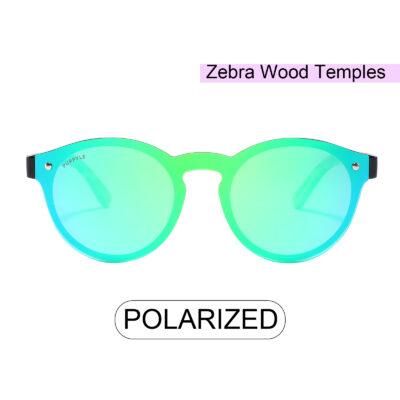 Purpyle Palo 1502M-1 WFR Classic Polarized Mirrored Sunglasses Blue 5