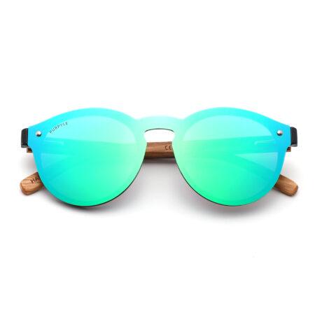 Purpyle Palo 1502M-1 WFR Classic Polarized Mirrored Sunglasses Blue 3