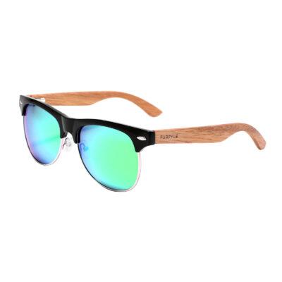 Avalon 1503M-1 Clubmaster Polarized Mirrored Sunglasses Blue