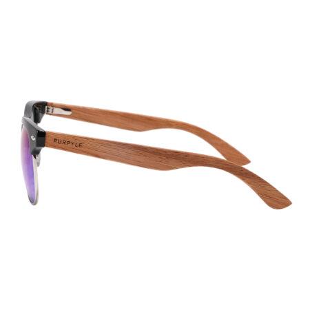Purpyle Avalon 1503M-1 WFR Classic Polarized Mirrored Sunglasses Blue 3