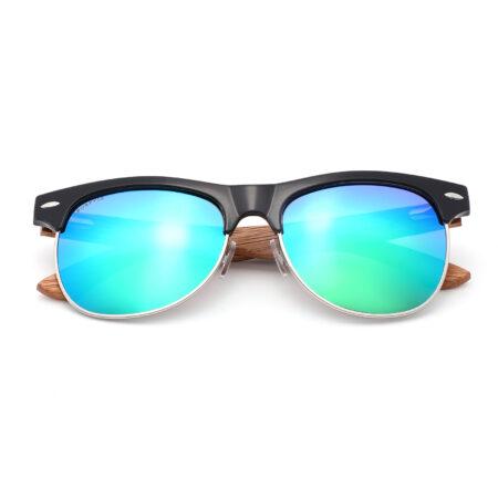 Purpyle Avalon 1503M-1 WFR Classic Polarized Mirrored Sunglasses Blue 4