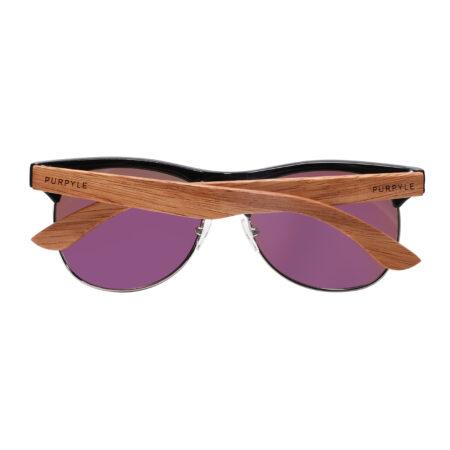Purpyle Avalon 1503M-1 WFR Classic Polarized Mirrored Sunglasses Blue 5