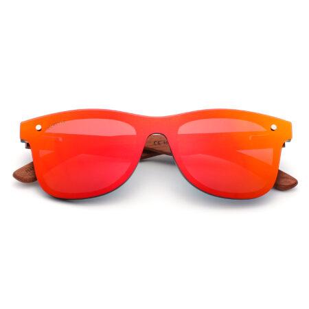 Palo Alto 1502M-5 WFR Polarized Mirrored Sunglasses Fire Red 2