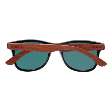 Palo Alto 1502M-5 WFR Polarized Mirrored Sunglasses Fire Red 1