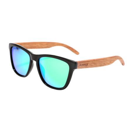 Purpyle Irvine 1505M-1 WFR Classic Polarized Mirrored Sunglasses Blue 1