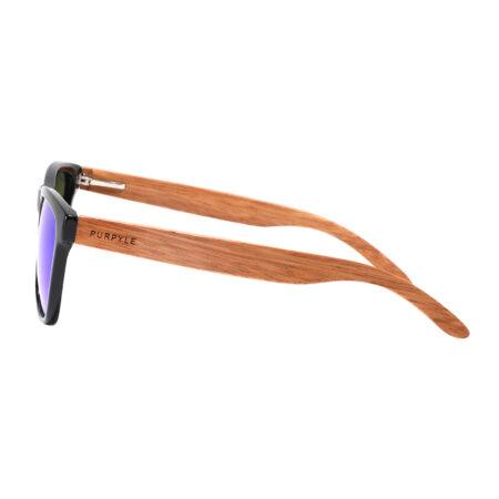 Purpyle Irvine 1505M-1 WFR Classic Polarized Mirrored Sunglasses Blue 2