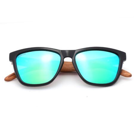 Purpyle Irvine 1505M-1 WFR Classic Polarized Mirrored Sunglasses Blue 3