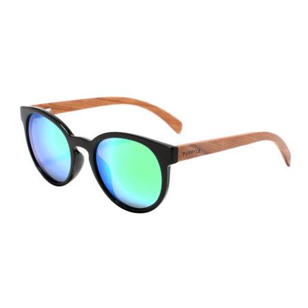 Purpyle Fairfax 1507M-1 WFR Classic Polarized Mirrored Sunglasses Blue 1