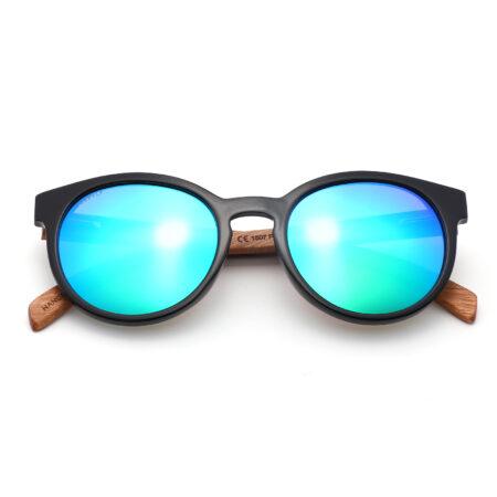 Purpyle Fairfax 1507M-1 WFR Classic Polarized Mirrored Sunglasses Blue 3