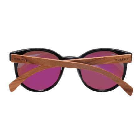 Purpyle Fairfax 1507M-1 WFR Classic Polarized Mirrored Sunglasses Blue 4