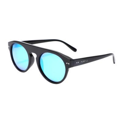 Manhattan 1687M-4 Classic Polarized Mirrored Sunglasses Blue