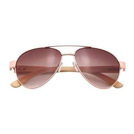 Purpyle Beverly Hills 2040-2 Aviator Tinted Sunglasses Brown 4