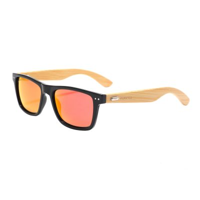 Irvine 310M-5 Classic Polarized Mirrored Sunglasses Fire Red