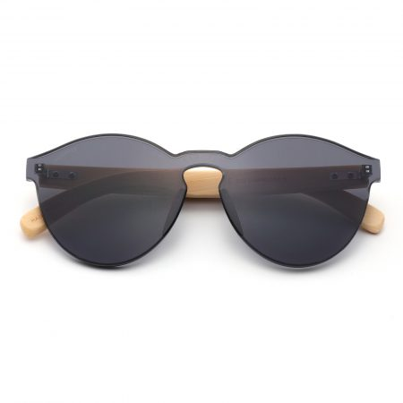 Purpyle Riverside 312-1 WFR Classic Round Tinted Sunglasses Black 4