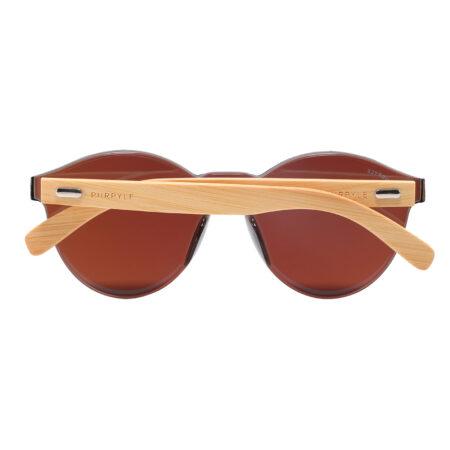Purpyle Riverside 312M-4 WFR Classic Round Mirrored Sunglasses Blue 5