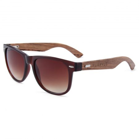 Purpyle Belmont 313W-2 WFR Classic Polarized Tinted Sunglasses Brown 2