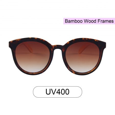 Purpyle Hermosa 314-7 Classic Round Tinted Sunglasses Brown 5
