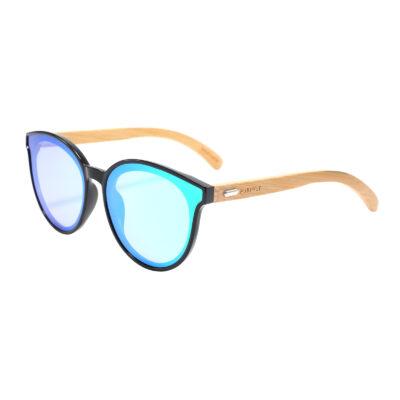 Hermosa 314M-1 Classic Round Tinted Sunglasses Blue