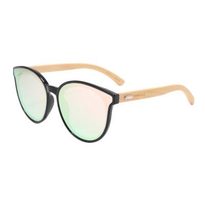 Hermosa 314M-10 Classic Round Tinted Sunglasses Pink