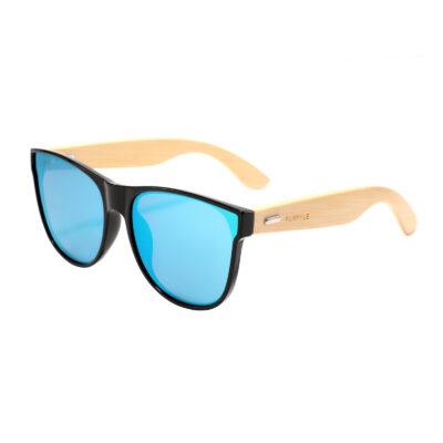 Imperial 315M-3 Oversized Rectangular Mirrored Sunglasses Blue