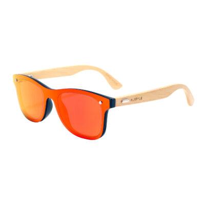 Sacramento 317M-5 WFR Classic Mirrored Sunglasses Red