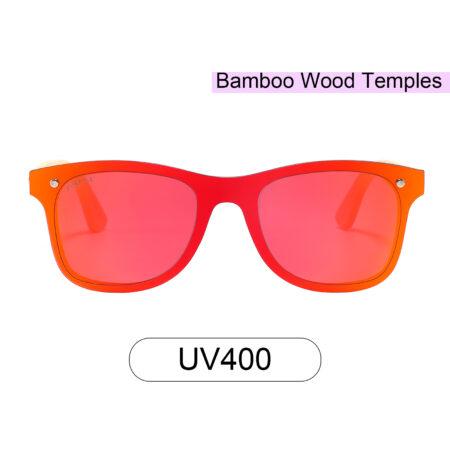 Purpyle Sacramento 317M-5 WFR Classic Mirrored Sunglasses Orange 1