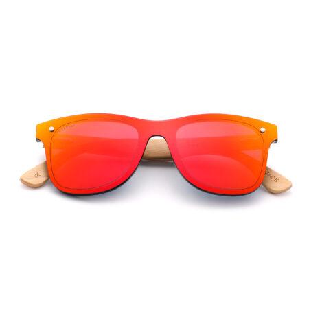 Purpyle Sacramento 317M-5 WFR Classic Mirrored Sunglasses red 3