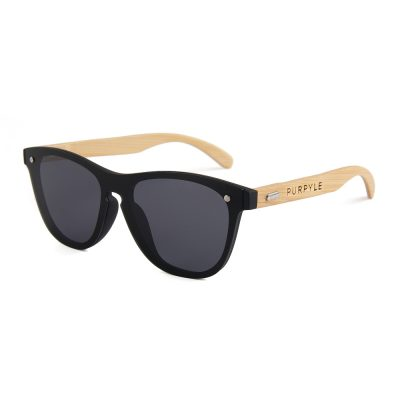 Hollywood 318-1 WFR Classic Tinted Sunglasses Black
