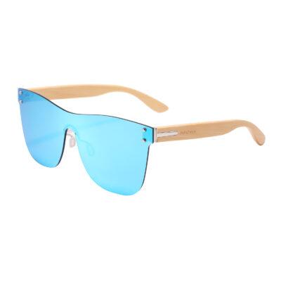 Odessa 323M-4 Classic Frameless Mirrored Sunglasses Blue