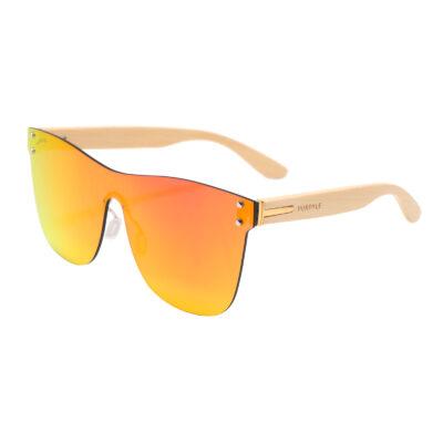 Odessa 323M-5 Classic Frameless Mirrored Sunglasses Orange