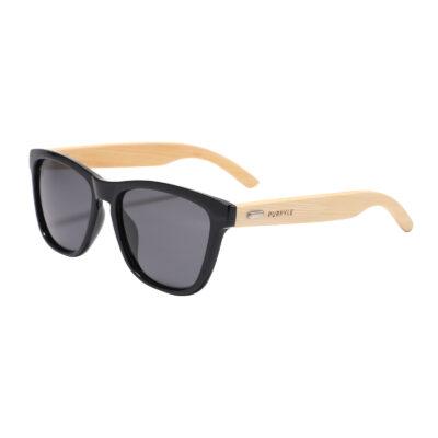 Newport B1039-1 WFR Classic Polarized Tinted Sunglasses Black