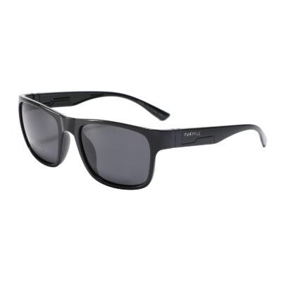 Danville P516-1 WFR Classic Polarized Tinted Sunglasses Black