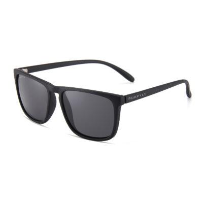 Lynwood 1688-1 WFR Classic Polarized Tinted Sunglasses Black