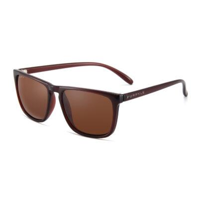Lynwood 1688-2 WFR Classic Polarized Tinted Sunglasses Brown
