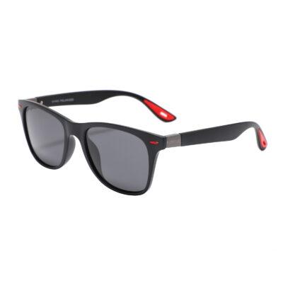 Montclair 1698-1 Classic Polarized Tinted Sunglasses Dark Gray