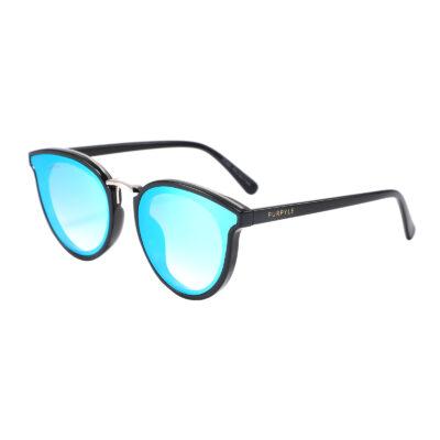 Portola 2141M-4 Classic PC Lens Mirrored Sunglasses Blue