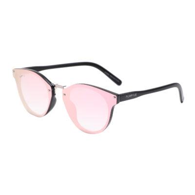 Santa C 2143M-10 Classic Mirrored Reflective Sunglasses Pink
