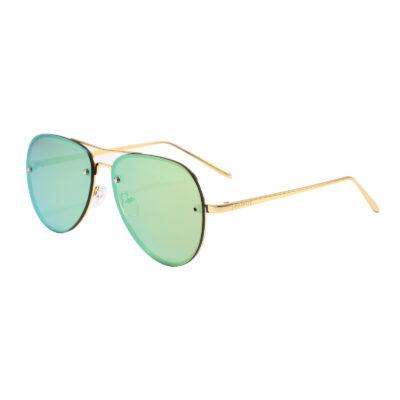 Paradise 2204M-10 Aviator Mirrored Sunglasses Beige