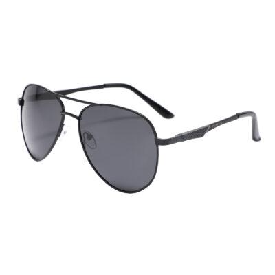Nevada 2870-1 Aviator Polarized Tinted Sunglasses Black