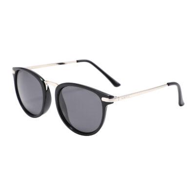 Monterey 3252-1 Classic Polarized Tinted Sunglasses Black