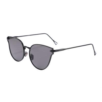 Covina 3461-1 Cat Eye Tinted Sunglasses Black