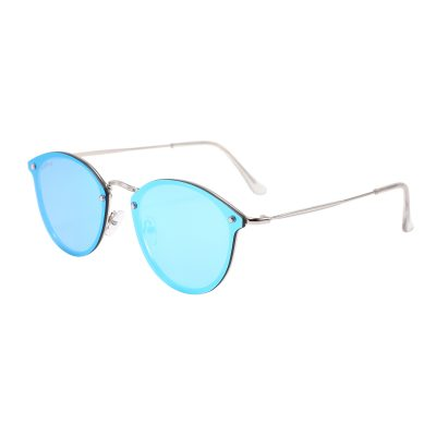 Rocklin 3481M-4 Classic Mirrored Reflective Sunglasses Blue
