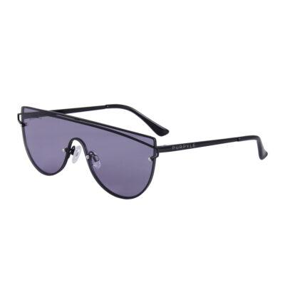 Seaside 3485-1 Shield Mirrored Sunglasses Black