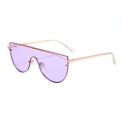 Seaside 3485-7 Shield Tinted Sunglasses Purple
