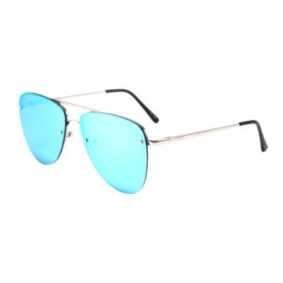 Richmond 3498M-4 Aviator Mirrored Sunglasses Blue