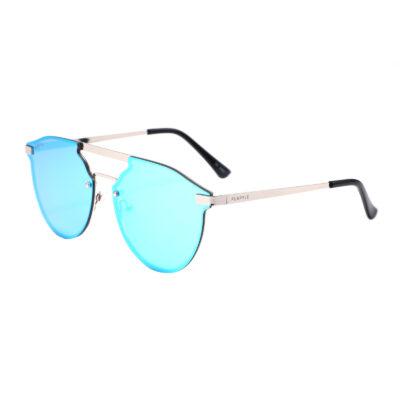 Richmond 3589M-4 Double Bridge Aviator Mirrored Sunglasses Blue