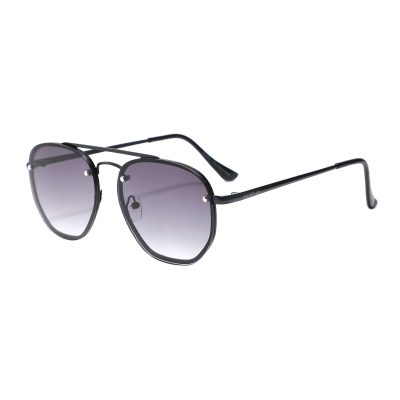 Palmdale 3645-1 Rectangular Tinted Sunglasses Gray Gradient